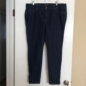 Forever 21 plus stretch denim pants